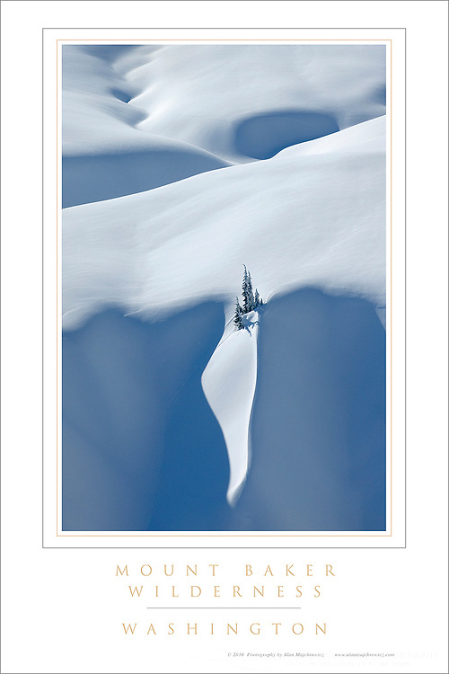 Mount Baker Wilderness Poster
