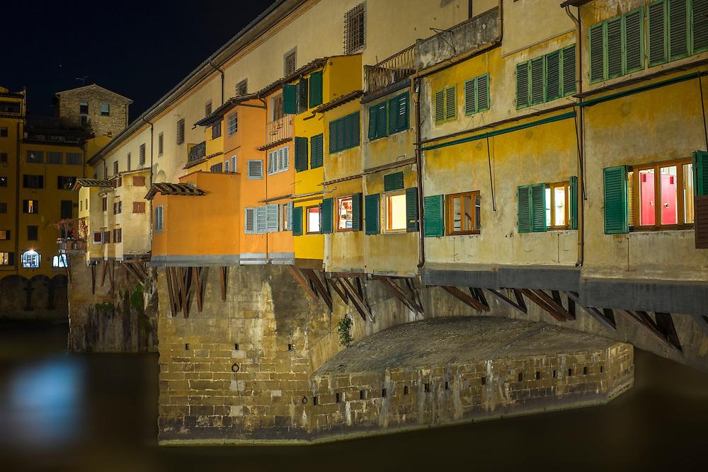 Ponte Vecchio, Florence, Italy.