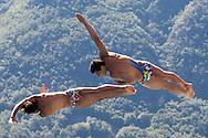 Team ITALY TOCCI Giovanni CHIARABINI Andrea bronze medal<br /> Bolzano, Italy <br /> 22nd FINA Diving Grand Prix 2016 Trofeo Unipol<br /> Diving<br /> Men's 3m synchronised springboard final <br /> Day 03 17-07-2016<br /> Photo Giorgio Perottino/Deepbluemedia/Insidefoto