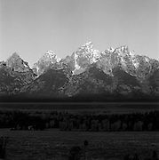 Grand Tetons At Dawn, Grand Teton Natioanl Park, WY