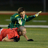 10.29.2014 Elyria Catholic vs Mansfield Christian Boys Varsity Soccer
