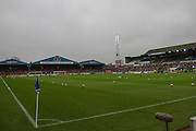 Brunton Park Fills as tension builds during the The FA Cup fourth round match between Carlisle United and Everton at Brunton Park, Carlisle, England on 31 January 2016. Photo by Craig McAllister.