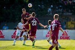 Kristjan Arh Cesen of NK Triglav Kranj during football match between NK Triglav Kranj and NK Olimpija Ljubljana in 4th Round of Prva liga Telekom Slovenije 2017/18, on August 5, 2017 in Dravograd, Slovenia. Photo by Ziga Zupan / Sportida