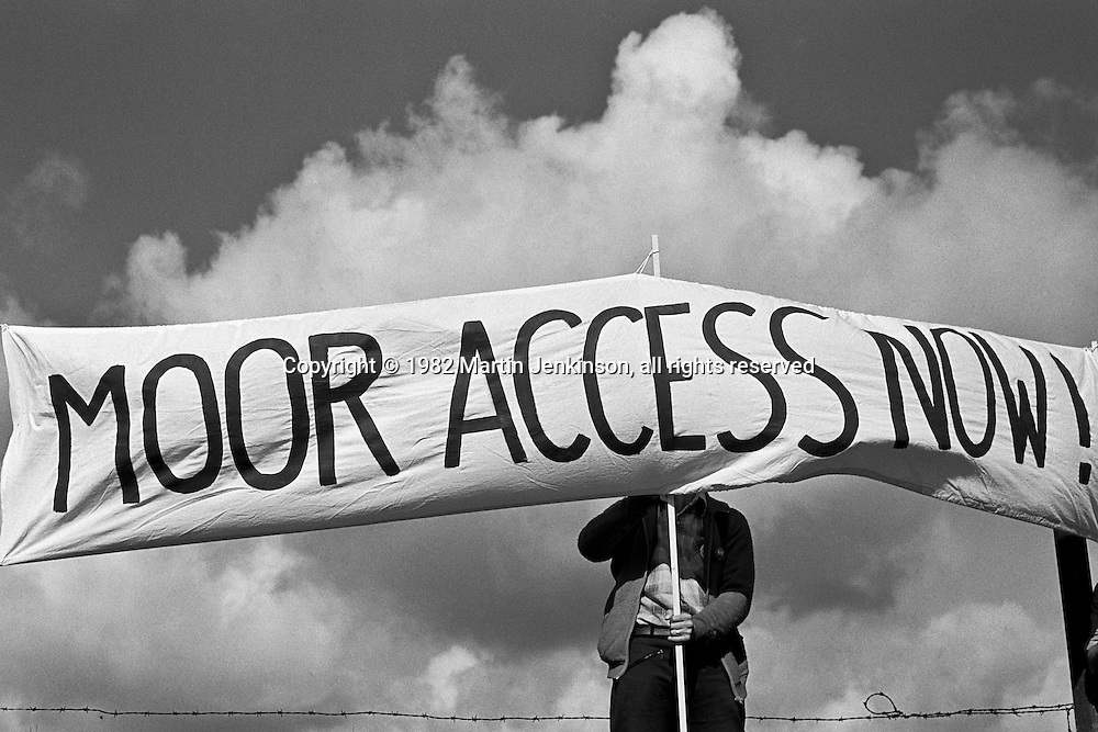 Sheffield Campaign for Access to Moorland, SCAM, Mass Tresspass 12/08/1982