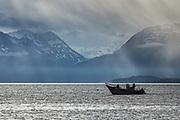 Salmon Fishing on Katchemak Bay, Homer, Alaska