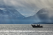 Salmon Fishing on Katchemak Bay, Homer, Alaska
