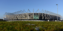 General view of the iPro Stadium - Photo mandatory by-line: Dougie Allward/JMP - Mobile: 07966 386802 - 17/01/2015 - SPORT - Football - Derby - iPro Stadium - Derby County v Nottingham Forest - Sky Bet Championship