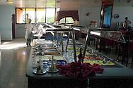 Buffet at the Hotel Pernik in Holguin, Cuba.