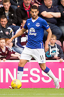 Everton's Kevin Mirallas during the pre-season friendly at Tynecastle Stadium, Edinburgh.