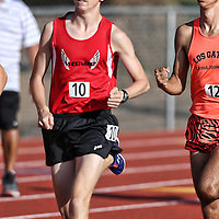 (Photograph by Bill Gerth for SVCN) in the CCS Track and Field Championships at Gilroy High School, Gilroy CA on 5/27/16.
