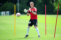 Bristol City's Kleton Perndreu - Photo mandatory by-line: Dougie Allward/JMP - Tel: Mobile: 07966 386802 28/06/2013 - SPORT - FOOTBALL - Bristol -  Bristol City - Pre Season Training - Npower League One