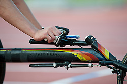 Behind the scenes, , 400m, T53, 2013 IPC Athletics World Championships, Lyon, France