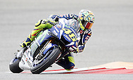 Italy's Valentino Rossi (46) during qualifying in the 2016 Grand Prix of the Americas MotoGP race at circuit of the Americas, in Austin, Texas on April 9, 2016.
