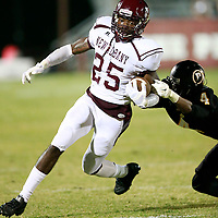 Thomas Wells | BUY at PHOTOS.DJOURNAL.COM<br /> New Albany running back Braudrique Boyd helped lead the Bulldogs pull off the 27-24 win over Pontotoc on Friday.