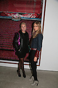 Olympia Scarry and Princess Elizabeth Thurn und Taxis. , Andreas Gursky.White Cube, Mason's Yard. London. 22 March 2007.   -DO NOT ARCHIVE-© Copyright Photograph by Dafydd Jones. 248 Clapham Rd. London SW9 0PZ. Tel 0207 820 0771. www.dafjones.com.