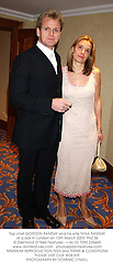 Top chef GORDON RAMSAY and his wife TANA RAMSAY at a ball in London on 13th March 2003.	PHZ 36