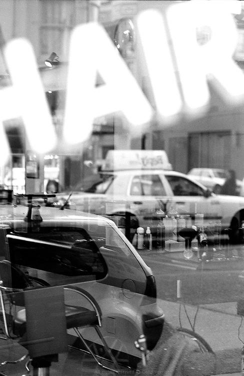 Hair dresser downtown San Francisco