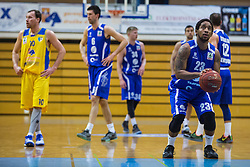 Clark Ceola of KK Tajfun Sentjur during basketball match between KK Sencur  GGD and KK Tajfun Sentjur for Spar cup 2016, on 16th of February , 2016 in Sencur, Sencur Sports hall, Slovenia. Photo by Grega Valancic / Sportida.com