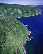 Hana Road, Hana, Maui, Hawaii, USA<br />