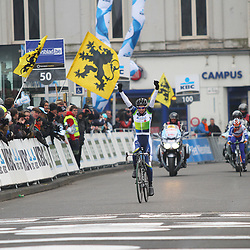 Sportfoto archief 2013<br /> Omloop Het Nieuwsblad women won by Tiffany Cromwel (Orica-Greenedge)