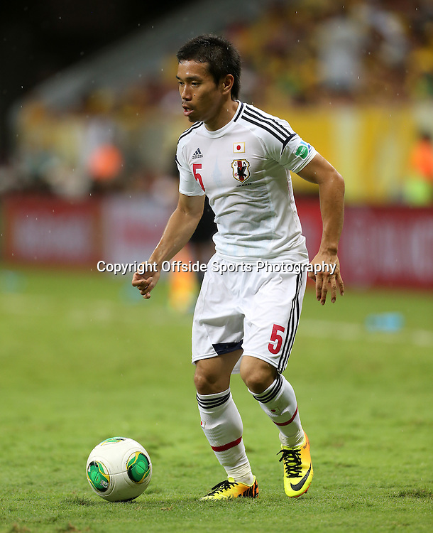 15th June 2013 - FIFA Confederations Cup 2013 - Brazil v Japan - Yuto Nagatomo of Japan - Photo: Simon Stacpoole / Offside.
