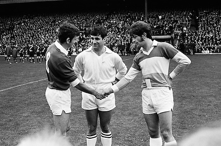 All Ireland Senior Football Championship Final, Offaly v Galway, 26.09.1971, 09.26.1971, 26th September 1971, Offaly 1-14 Galway 2-08, 26091971AISFCF, Referee Paul Kelly, ...