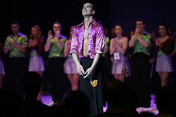 "Slovenian dancer Andrej Skufca at the ""goodbye"" event Infinity is Eternity (Neskoncnost je vecnost), on March 2, 2008, in Cankarjev dom, Ljubljana, Slovenia.  (Photo by Vid Ponikvar / Sportal Images)/ Sportida)"