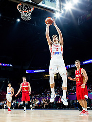 Dragan Bender of Croatia during basketball match between National Teams of Croatia and Russia at Day 11 in Round of 16 of the FIBA EuroBasket 2017 at Sinan Erdem Dome in Istanbul, Turkey on September 10, 2017. Photo by Vid Ponikvar / Sportida
