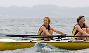 St Peter's Port, Guernsey, CHANNEL ISLANDS, Ladies Pair, Aberdyfi RC, Bow, Cath HARVARD and Stroke, Jane THOMPSON,  competing in the  2006 FISA Coastal Rowing  Challenge,  03/09/2006.  Photo  Peter Spurrier, © Intersport Images,
