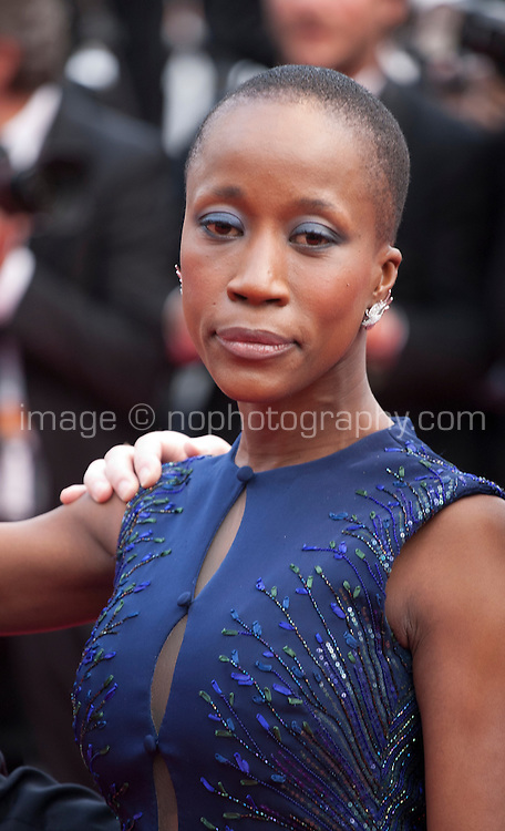 Rokia Traore at the Closing ceremony and premiere of La Glace Et Le Ciel at the 68th Cannes Film Festival, Sunday 24th May 2015, Cannes, France.