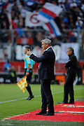 Bruno Genesio (Olympique Lyonnais) during the French championship L1 football match between Rennes v Lyon, on August 11, 2017 at Roazhon Park stadium in Rennes, France - Photo Stephane Allaman / ProSportsImages / DPPI