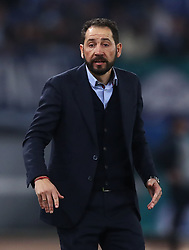 February 14, 2019 - Rome, Italy - SS Lazio v Fc Sevilla : UEFA Europa League Round of 32 .Pablo Machin manager of Sevilla at Olimpico Stadium in Rome, Italy on February 14, 2019. (Credit Image: © Matteo Ciambelli/NurPhoto via ZUMA Press)
