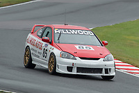 #85 AINGE / CASSAR Honda Integra Type R  during CSCC RSV Graphics New Millennium and CSCC Motosport School Turbo Tin Tops as part of the CSCC Oulton Park Cheshire Challenge Race Meeting at Oulton Park, Little Budworth, Cheshire, United Kingdom. June 02 2018. World Copyright Peter Taylor/PSP.