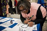 Advanced Academics and Microsoft Education partnered on a Coding Bash and Technology Showcase at Hattie Mae White Educational Support Center on Dec. 8.