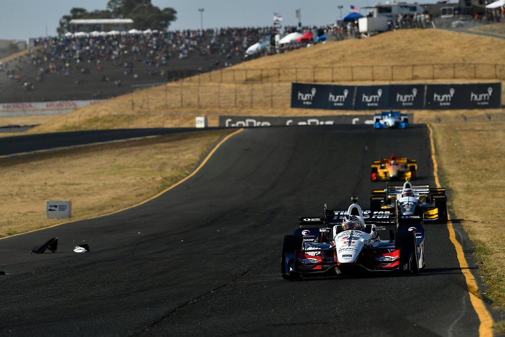 Verizon IndyCar Series<br /> GoPro Grand Prix of Sonoma<br /> Sonoma Raceway, Sonoma, CA USA<br /> Sunday 17 September 2017<br /> Graham Rahal, Rahal Letterman Lanigan Racing Honda<br /> World Copyright: Scott R LePage<br /> LAT Images<br /> ref: Digital Image lepage-170917-son-11060