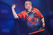 Stephen Bunting during the PDC William Hill World Darts Championship at Alexandra Palace, London, United Kingdom on 17 December 2019.