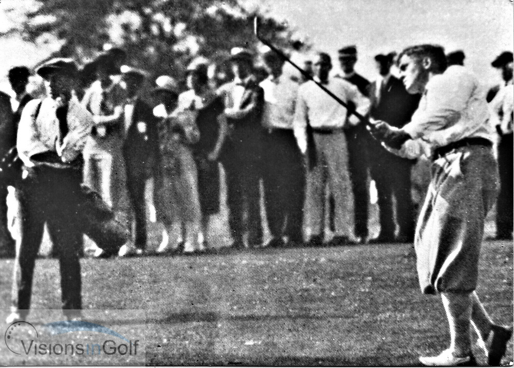 Bobby Jones at the USGA Open Championship 1926<br /> Picture Credit: &copy;Visions In Golf / Hobbs Golf Collection