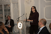 DEBORAH HOROWITZ, The Academy Museum of Motion Pictures hosts a lunch and press briefing about the Museum's<br /> 2019 opening in Los Angeles. The Dorchester<br /> Park Lane,  London. 10 December 2018