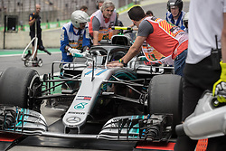 November 9, 2018 - Sao Paulo, Sao Paulo, Brazil - drives during the free practice session for the Formula One Grand Prix of Brazil at Interlagos circuit, in Sao Paulo, Brazil. The grand prix will be celebrated next Sunday, November 11. (Credit Image: © Paulo LopesZUMA Wire)
