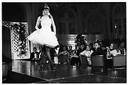 Berkeley dress show 13th April 1987. Miss Charlotte Stockdale© Copyright Photograph by Dafydd Jones 66 Stockwell Park Rd. London SW9 0DA Tel 020 7733 0108 www.dafjones.com