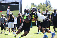 Damien Mama at The Opening on July 3, 2013 at the Nike World Headquarters  in Portland, Oregon.