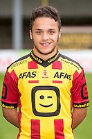 Mechelen's Mohammed Zeroual pictured during the 2015-2016 season photo shoot of Belgian first league soccer team KV Mechelen, Wednesday 15 July 2015 in Mechelen.