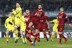 February 8, 2019 - Verona, Italia - Foto Paola Garbuio/LaPresse.08 febbraio 2019 Verona, Italia.sport.calcio.Chievo Verona  vs Roma- Campionato di calcio Serie A TIM 2018/2019 - stadio Bentegodi.Nella foto: stepinsky..Photo Paola Garbuio/LaPresse.february  08, 2019 Verona, Italy.sport.soccer.Chievo Verona  vs Roma  - Italian Football Championship League A TIM 2018/2019 -  stadio Bentegodi..In the pic:stepinsky (Credit Image: © Paola Garbuio/Lapresse via ZUMA Press)