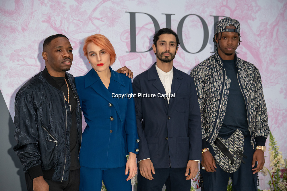 Noomi Rapace, Riz Ahmed, Krept and Konan arrives at V&A - summer party, on 19 June 2019, London, UK