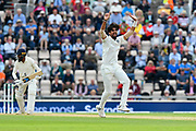 Wicket - Ishant Sharma of India appeals for an lbw against Adil Rashid of England who is given out during the first day of the 4th SpecSavers International Test Match 2018 match between England and India at the Ageas Bowl, Southampton, United Kingdom on 30 August 2018.