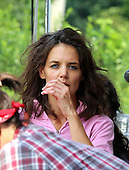 Katie Holmes on set of her new Movie All We Had