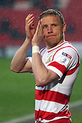 Doncaster Rovers defender Craig Alcock (2)  during the EFL Sky Bet League 1 match between Doncaster Rovers and Blackburn Rovers at the Keepmoat Stadium, Doncaster, England on 24 April 2018. Picture by Mick Atkins.