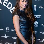 NLD/Amsterdam/20191114 - Uitreiking Esquires Best Geklede Man 2019,  Lisa Michels
