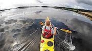 Norway, Hvaler area, Kayaking