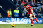 Nottingham Forest midfielder Joe Lolley (23) during the EFL Sky Bet Championship match between Preston North End and Nottingham Forest at Deepdale, Preston, England on 16 February 2019.
